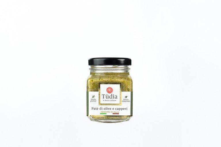 Patè di olive e capperi TUDIA